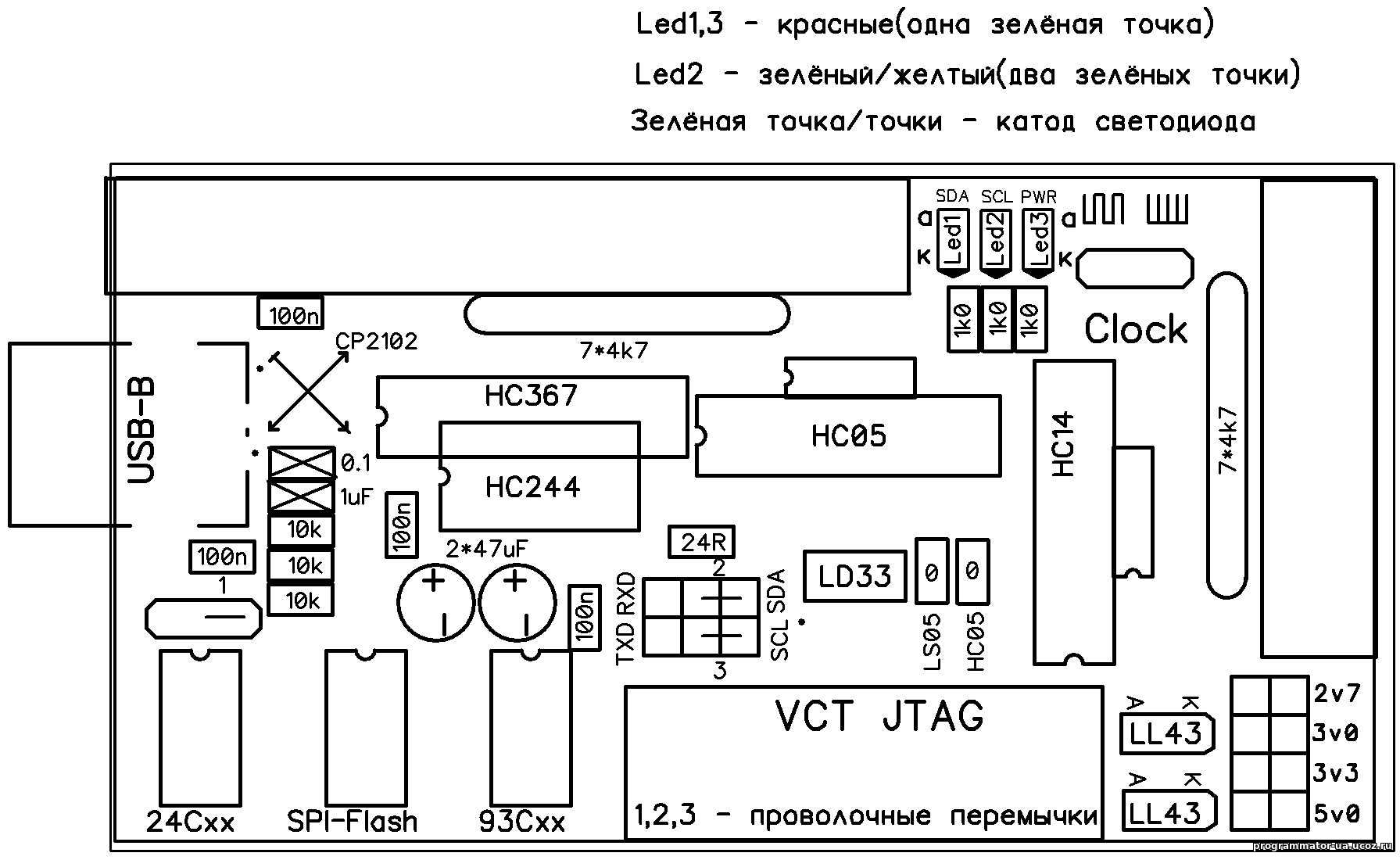 VCT JTAG для софта Postal2 - Мои файлы - Каталог файлов ...: http://programmator-ua.ucoz.ru/load/jtag_postal2/1-1-0-3